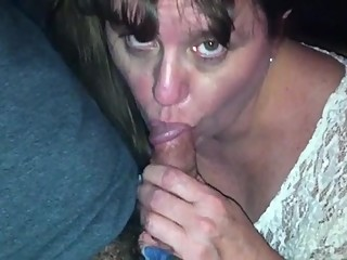 blowjob in adult video booth