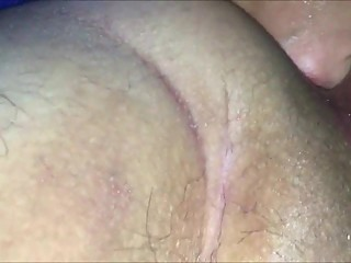 Fisting a Granny's Shaved Pussy CLOSEUP