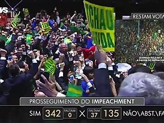 Brazilian MILF President Public..