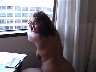 Dominican & White MILF with Big..