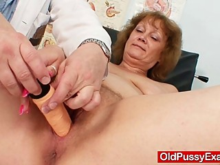 Hairy fat mom gets harrassed by..