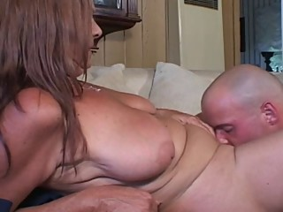 Older Mommy Anastasia Fucks Son's..