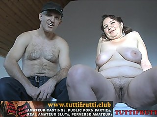 Fat mom real home made casting