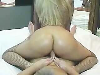 Blonde Bubblebutt Boner Grinding