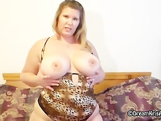 Kris Ann sexy & in a teddy